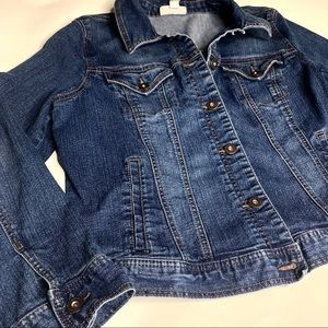 Style & Co Jackets & Coats - Denim Jacket by Style & Co w/free Ciao Bella shirt